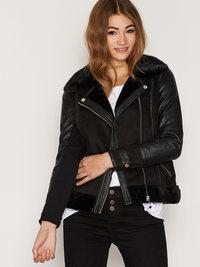 Skinnjakke på nett i nettbutikk skinn jakke